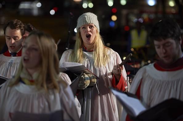 Cori a Trafalgar Square (NIKLAS HALLE'N/AFP/Getty Images)