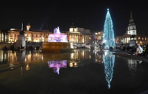 Natale 2016 a Trafalgar Square, Londra (Stuart C. Wilson/Getty Images)