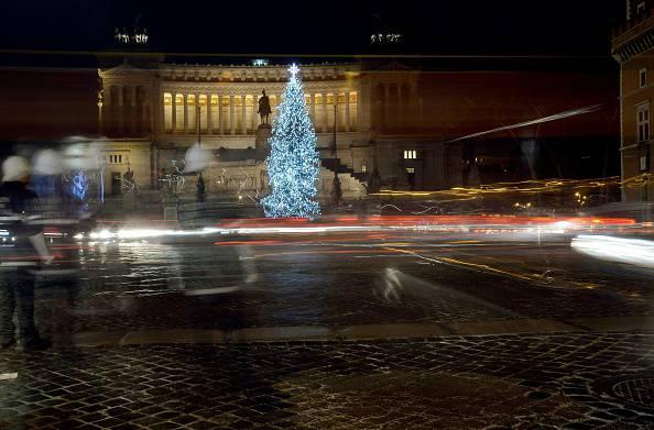 Roma, piazza Venezia (FILIPPO MONTEFORTE/AFP/Getty Images)