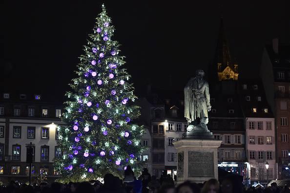Natale 2016 a Strasburgo (PATRICK HERTZOG/AFP/Getty Images)