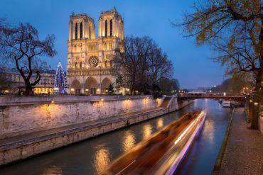 Notre Dame a Natale, Parigi (iStock)