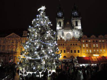 Praga a Natale (Pixabay)
