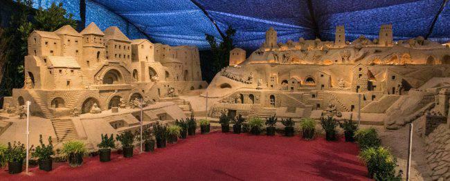 Presepe di sabbia di Torre Predera (www.facebook.com/PresepinRiviera)