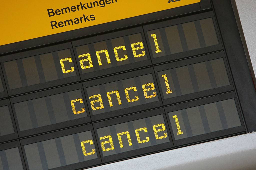 strike airport