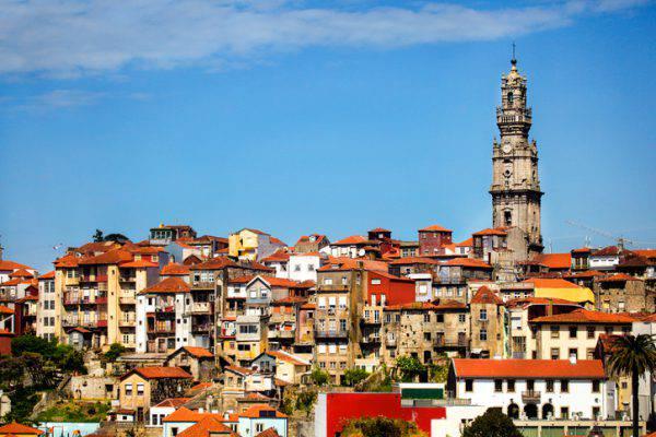 Torre dei Chierici, Porto, Portogallo