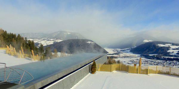 Piscine con vista le pi belle e panoramiche del mondo - Piscina hotel hubertus ...