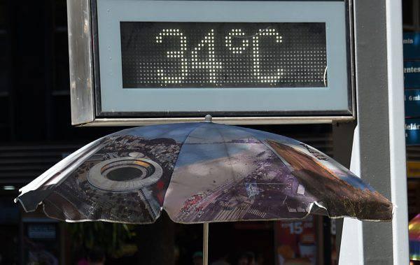 temperature estive