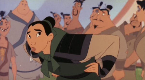 In cina sputano tutti fonte youtube screenshot Mulan