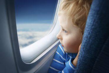 bambino aereo