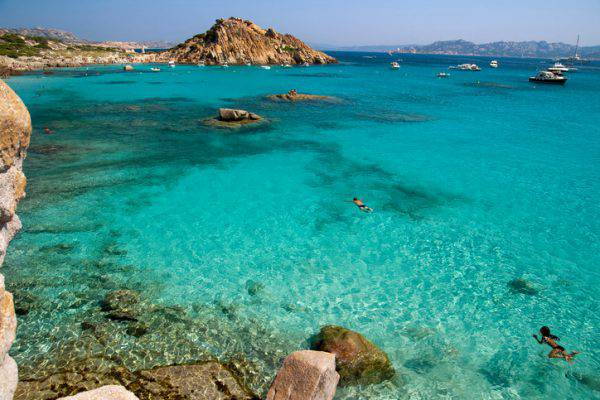 spiagge de la maddalena