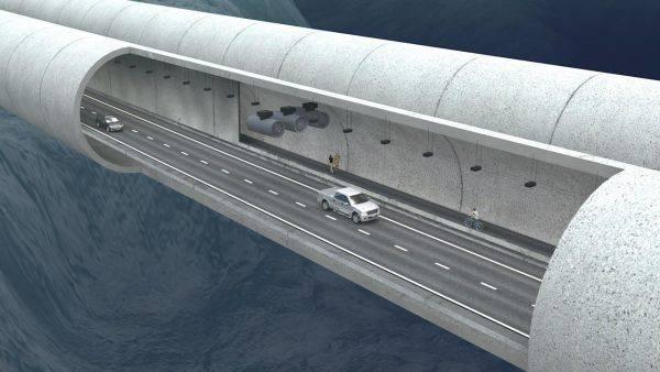Un ponte sommerso unirà i fiordi norvegesi fonte youtube