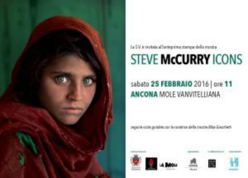 Steve mccurry le sue foto simbolo in mostra ad ancona for Steve mccurry icons