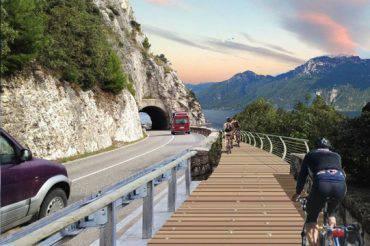 pista ciclabile sul lago di Garda fonte bikeitali