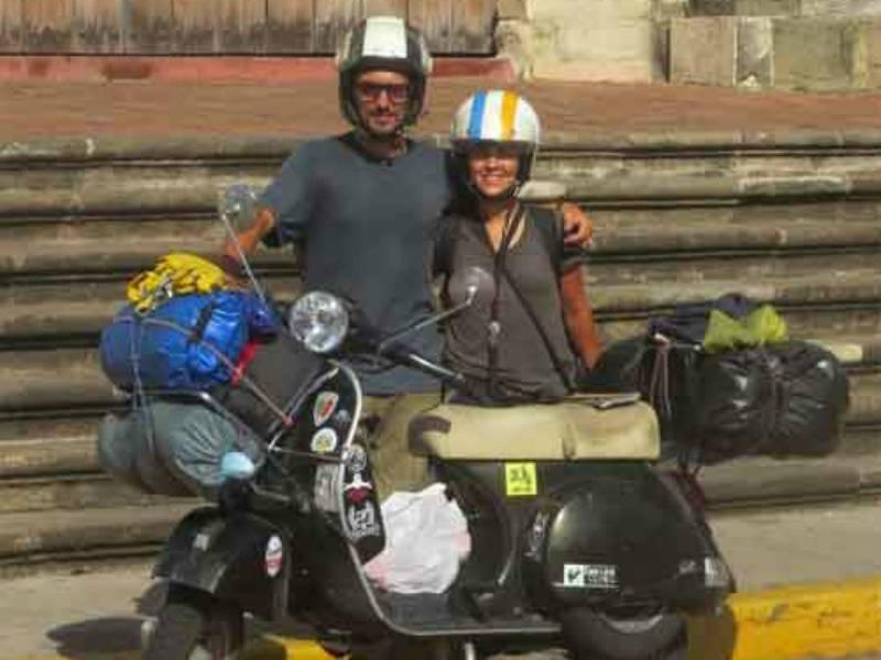 Paolo Zambon sulla Panamerica