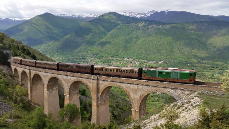 La Transiberiana d'Italia lungo il cammino del perdono fonte paesaggidabruzzo