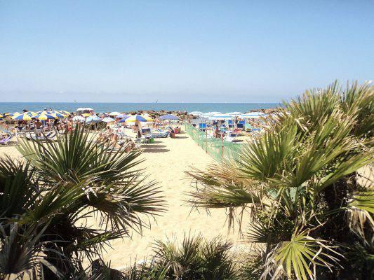spiagge vicine a roma