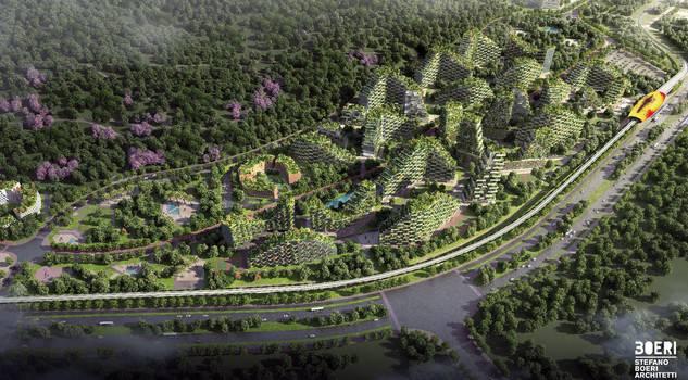 Nasce la prima città-foresta