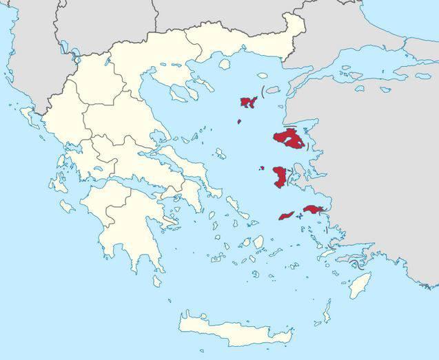 Cartina Muta Della Grecia.Isole Della Grecia Gli Arcipelaghi E Le Mappe Tutte Le
