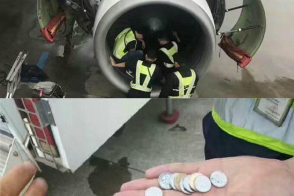 Lancia monetine contro un aereo fonte instagram