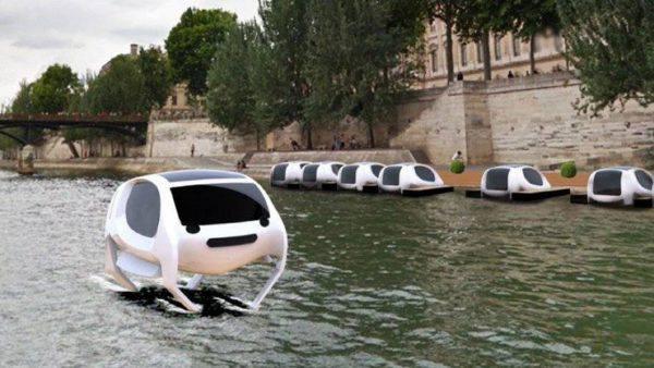 SeaBubble, taxi via fiume fonte youtube