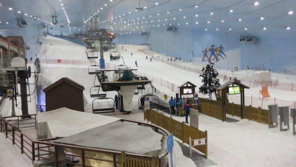 Sci al coperto: Ski-Dubai fonte youtube