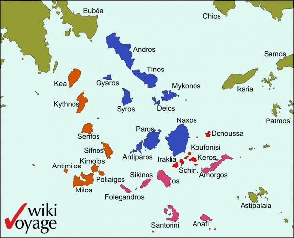 Cartina Della Grecia E Isole In Italiano.Isole Della Grecia Gli Arcipelaghi E Le Mappe Tutte Le Informazioni