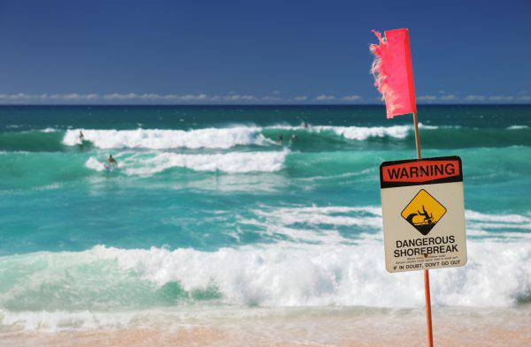 spiagge pericolose