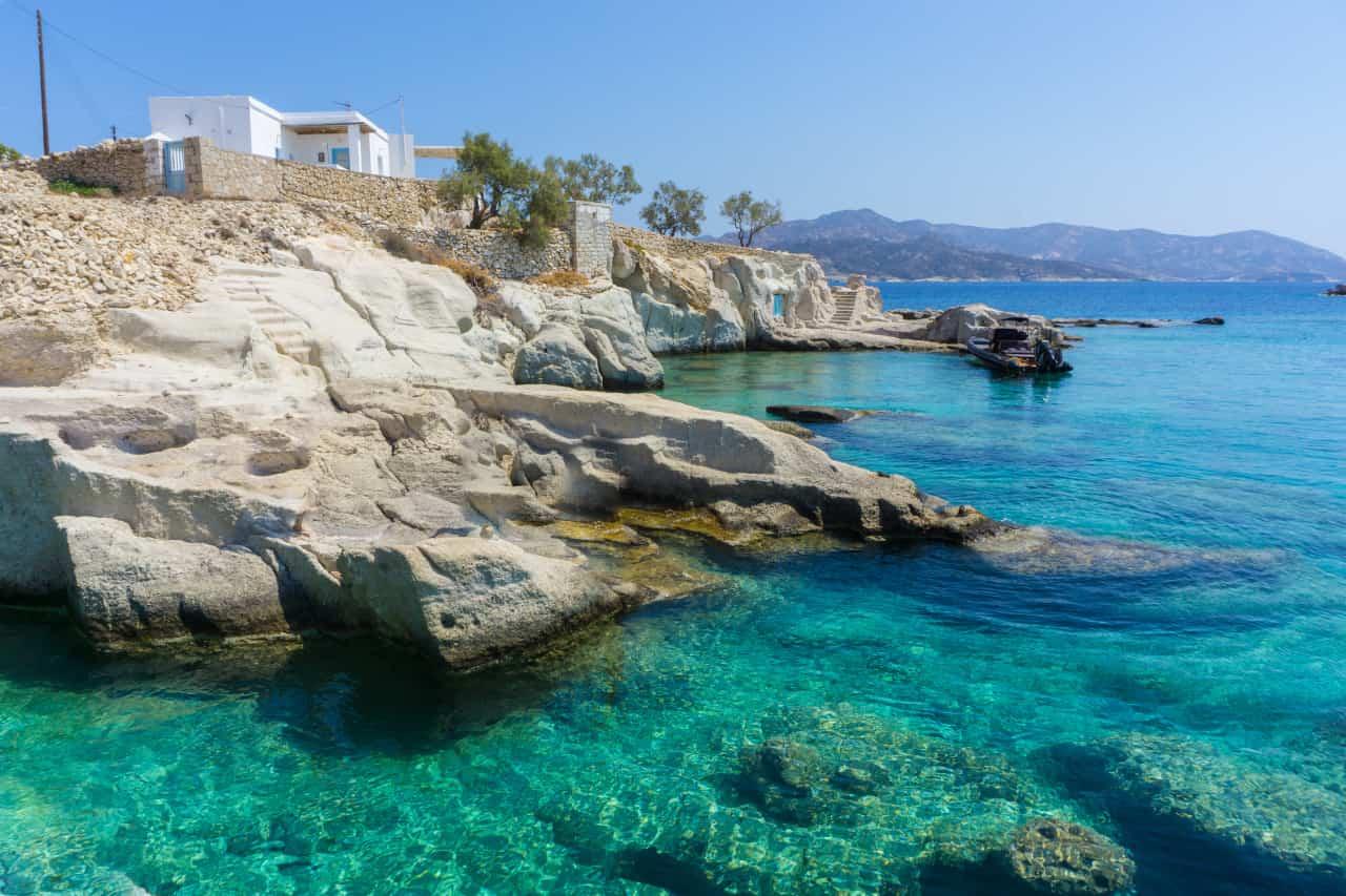 guida isole grecia kimolos