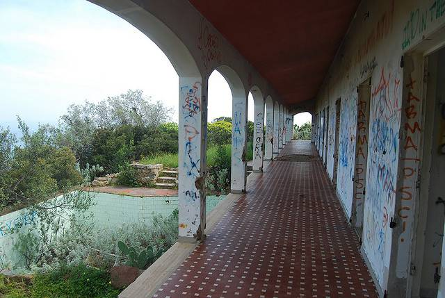 la villa della Contessa di Costa Rei, la casa dei misteri fonte youtube
