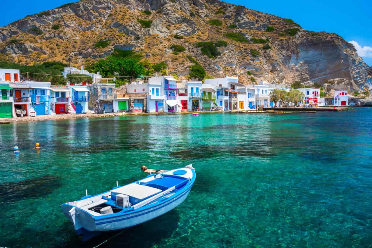 guida isole grecia milos