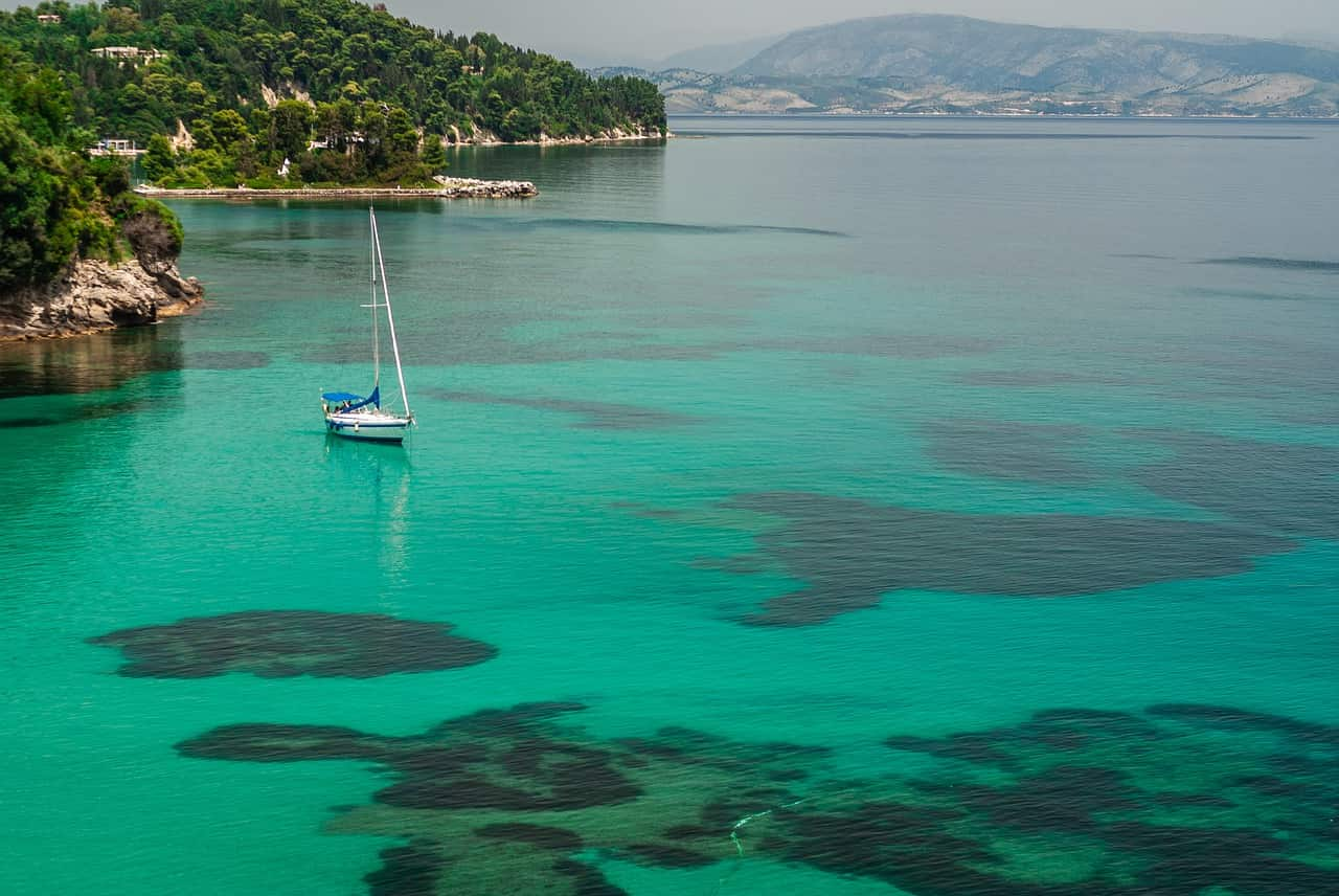 guida isola grecia corfù
