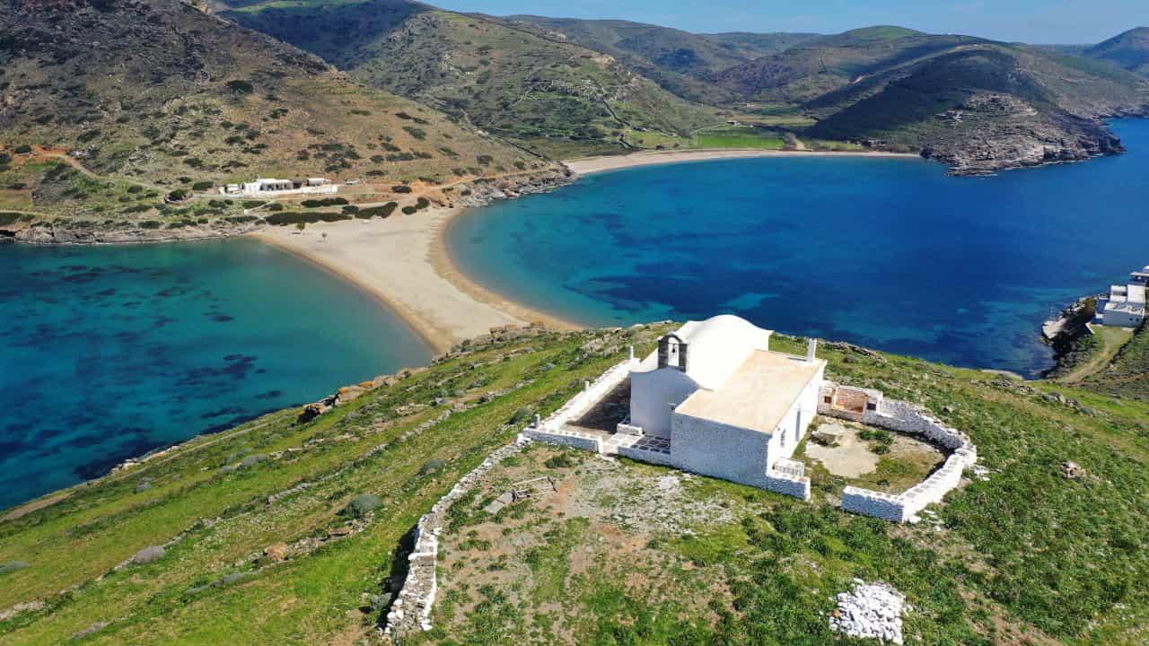guida isole grecia kythnos
