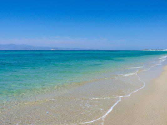 spiagge per bambini in grecia