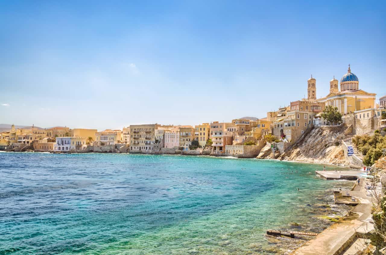 guida isole grecia syros