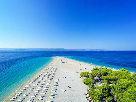 spiagge della croazia