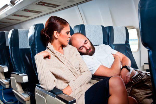 disagi in aereo