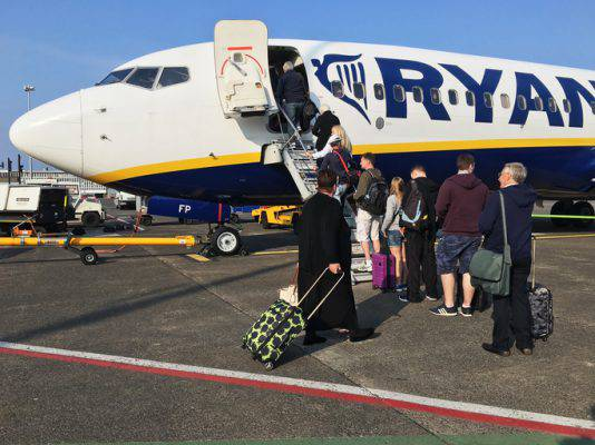 ryanair nuove regole check-in