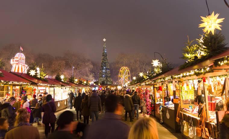 Immagini Londra Natale.Natale 2017 A Londra I Mercatini Di Natale Piu Belli Da Vedere
