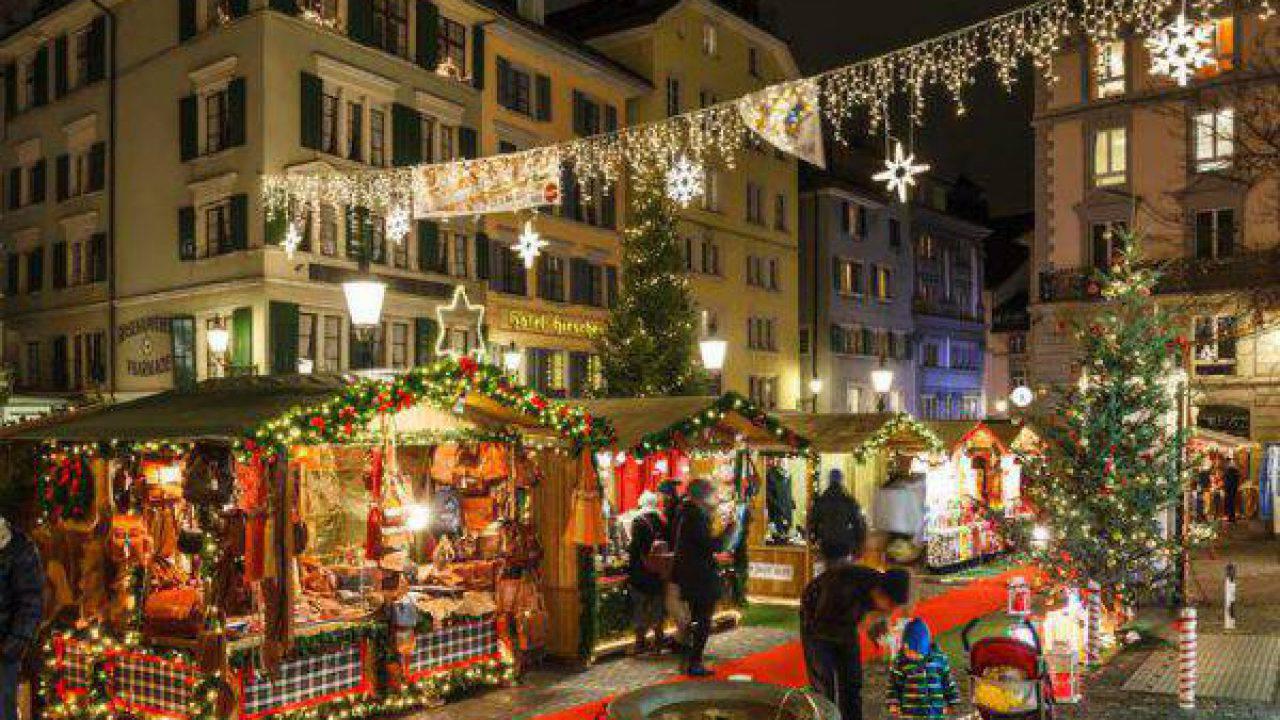 Addobbi Natalizi Zurigo.Mercatini Di Natale A Zurigo 2019 Dove Andare