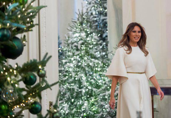 Addobbi natalizi della casa bianca