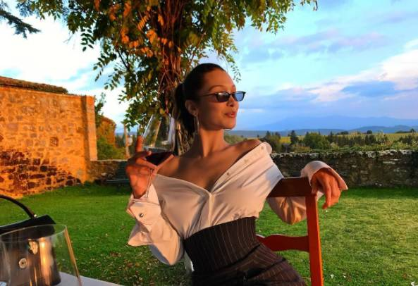 bella hadid italia