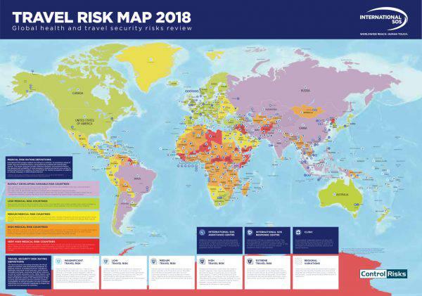 Dove non andare in vacanza nel 2018 i paesi pi for Dove andare in vacanza 2017