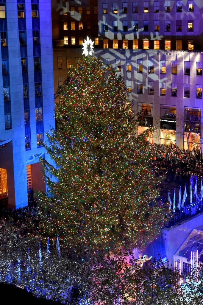 Albero Di Natale New York.Accensione Albero Di Natale New York 2017 Le Foto Piu Belle Del