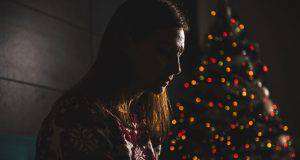 christmas blue tristezza natale