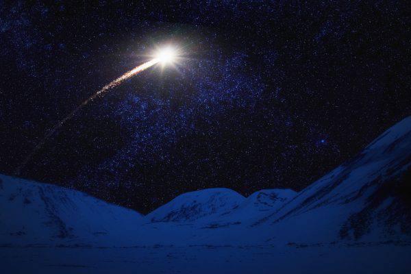 stelle cadenti di natale