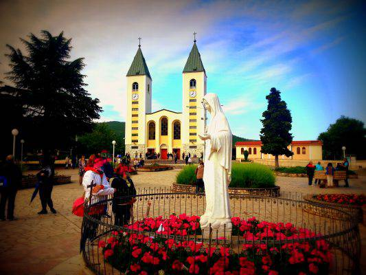 Pilgrimages authorized by the Church in Medjugorje