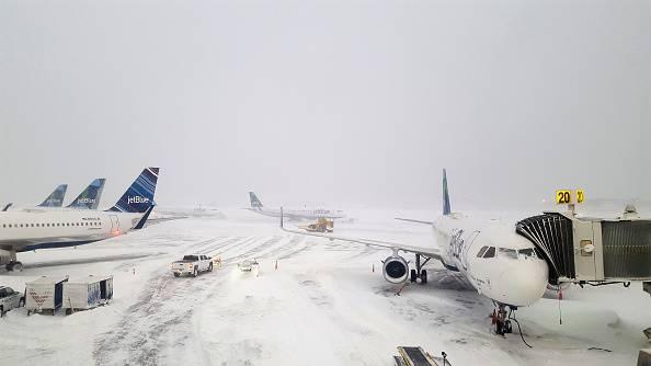 Usa - Cyclone Bomb cancella oltre 3 mila voli