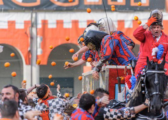 carnevale ivrea 2019