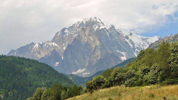 confini sul monte bianco