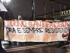 Guerriglia a Torino Antifascista